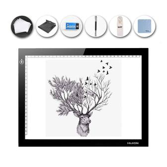 HUION LED Light Pad Ultra Thin 5mm Drawing Box Copy Tracing Stencil Tattoo Board Table