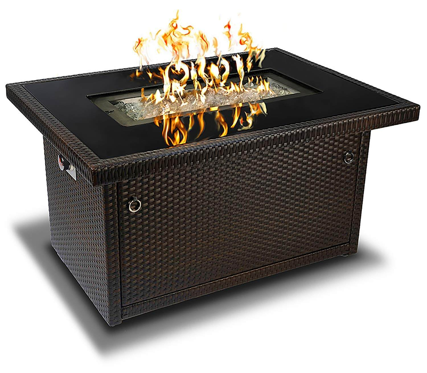 Outland Living Series 401 Brown 44-Inch Outdoor Propane Gas Fire Pit