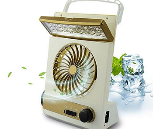 Portable Battery Operated Cooling Fan