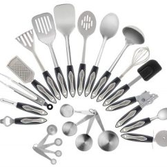 Kitchen Tool Set Remodels Under 5000 Top 10 Best Stainless Steel Utensil Sets In 2019 Reviews Chef Essential 23 Piece