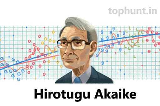 Japanese statistician Hirotugu Akaike in Hindi