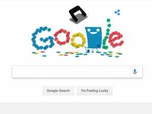 Google Doodle: Hole Punch history in Hindi   होल पंच इतिहास