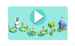 Google Doodle Celebrating 50 years of Kids Coding languages Hindi