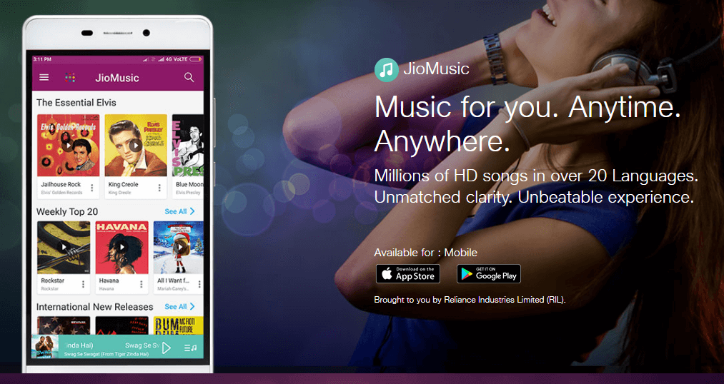 jio latest news: Reliance Jio's $1 billion deal to Merge JioMusic with Saavn