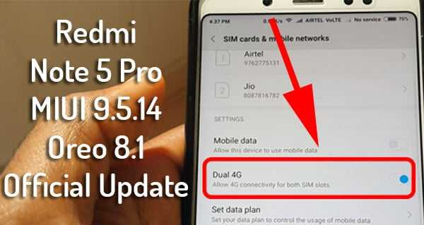 Redmi Note 5 Pro Oreo Update, MIUI 9.5.14 Official Download