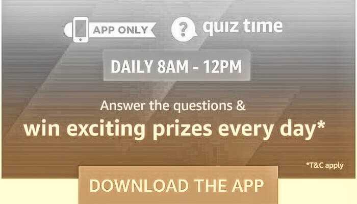 Amazon Quiz 28 January