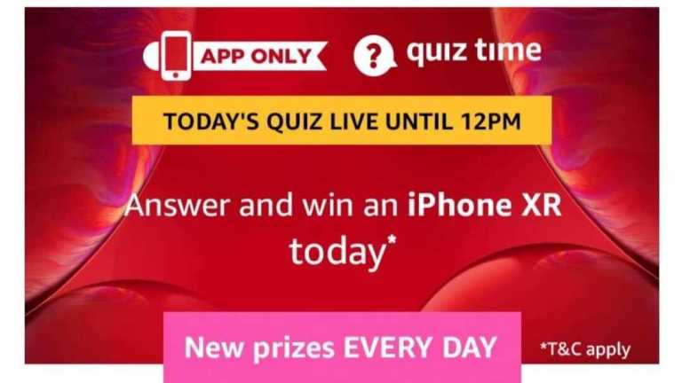 Amazon Quiz 21 July 2019 Answers - Win iPhone XR