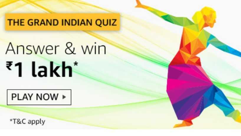 Amazon Grand Indian Quiz
