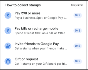 Google Pay 2020 - Collect Stamps, Complete Cake & Win upto ₹2020