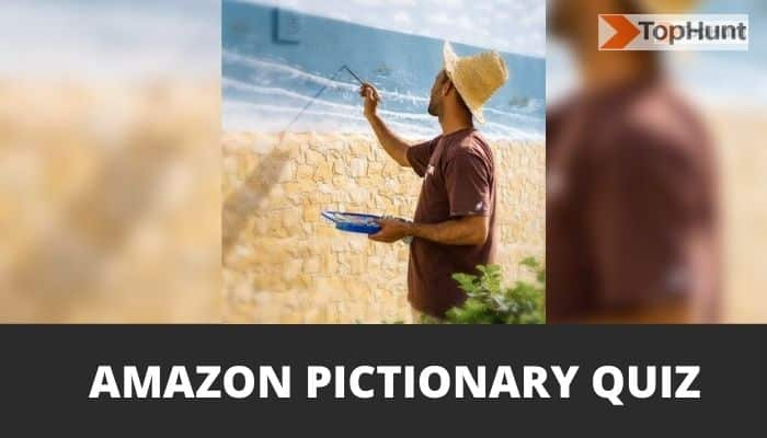 Amazon Pictionary Quiz Answers Today Win Rs.5000
