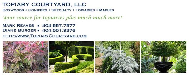 topiary courtyard contact
