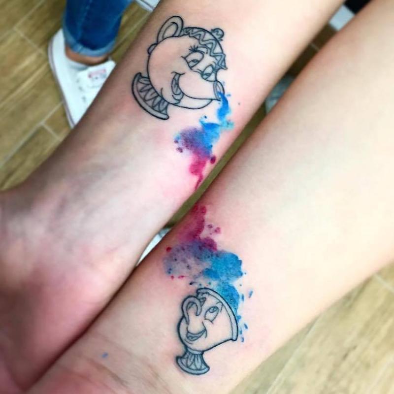 16 Ideas De Tatuajes Para Madre E Hija Que Son Geniales Y Te Vas A