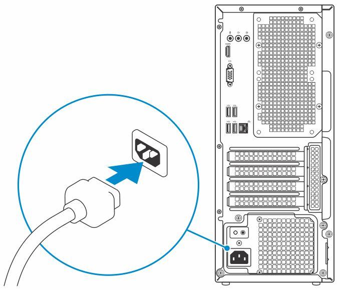 Dell Vostro 3670 设置和规格指南