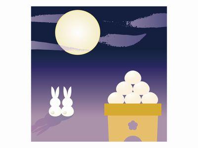 十五夜ウサギ