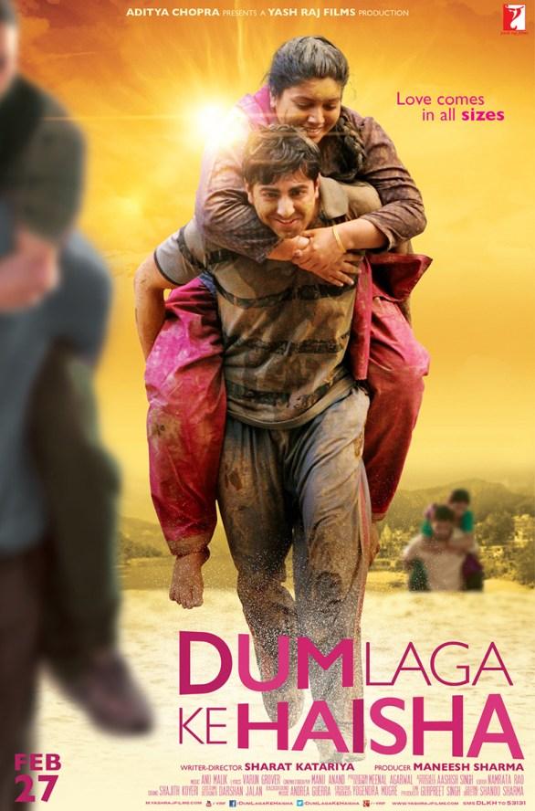 Dum Laga Ke Haisha hindi Movie review and rating - Ayushmann Khurana,Bhumi Pednekar