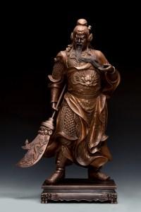 朱炳仁大師的《關公》銅雕系列1