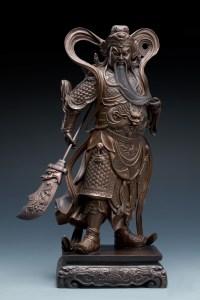 朱炳仁大師的《關公》銅雕系列2