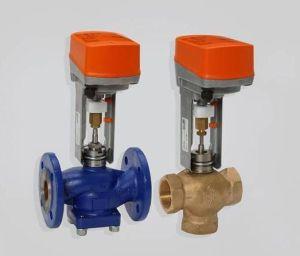 трехходовой клапан с электрическим приводом