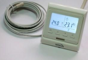 терморегулятор с термодатчиком