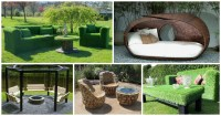 12 Unusual Garden Furniture For Unique Garden - Top ...