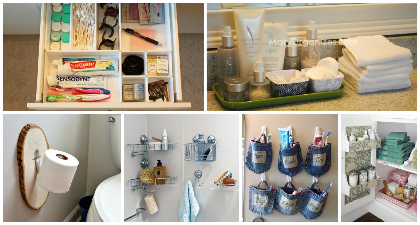 How To Organize A Bathroom 13 Practical Ideas That Will Help You With Bathroom Organization