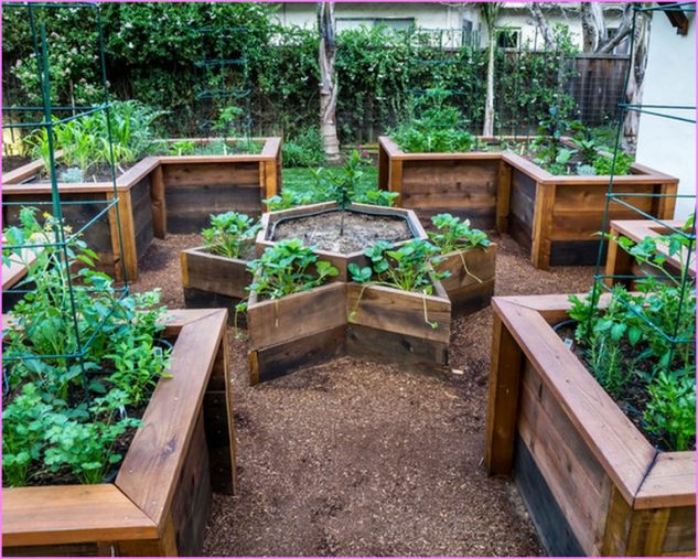 15 Unique Raised Garden Bed To Increase The Value Of Your Outdoor