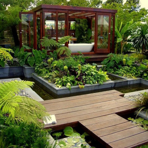 Stunning Garden Landscaping Ideas To Make Your Day Top Inspirations