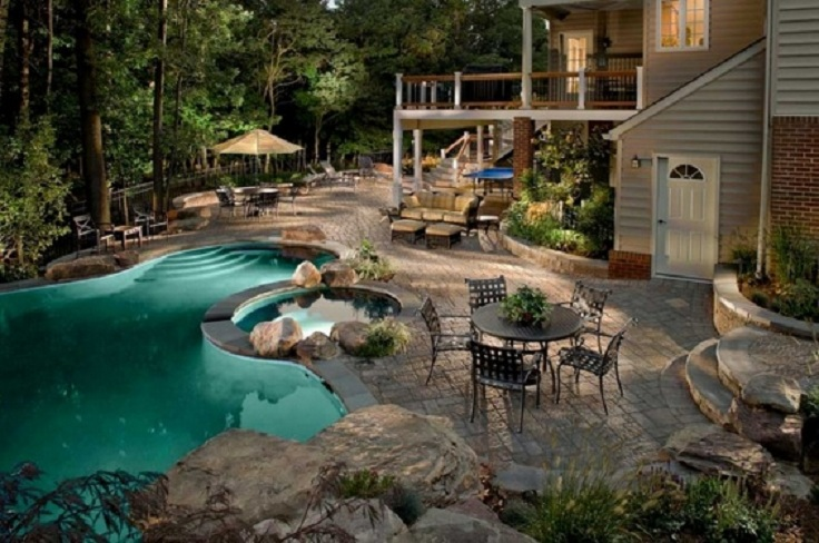TOP 10 Most beautiful backyards in USA