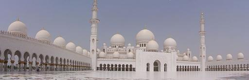 image of beautiful masjid abu dhabi
