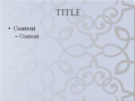 full mosaic theme content slide