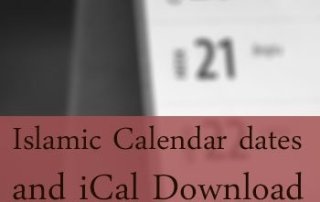 islamic calendar dates and ical download featured image