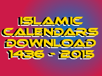 islamic calendar 2015 download free
