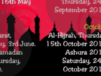 islamic festivals 2015