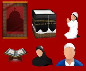 Image of Islamic Prayer Icons for Download