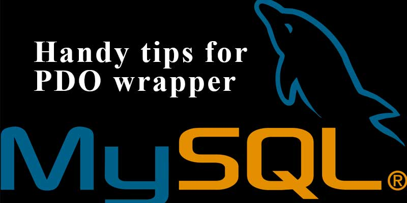 Medoo PDO PHP wrapper tricks