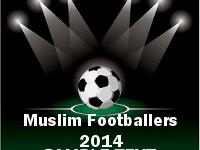 muslim footballers 2014