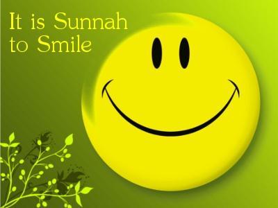 smile its sunnah image
