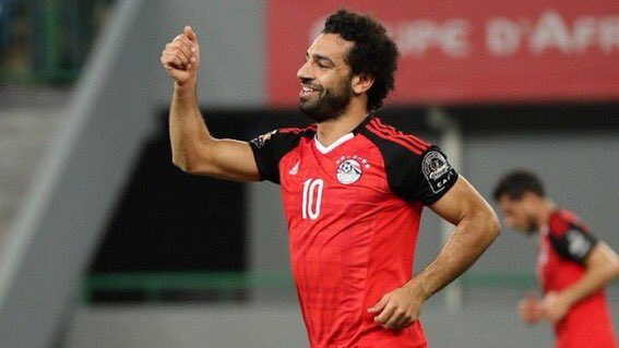 Muslim Players in the World Cup Russia 2018, Mohammed Salah for Egypt