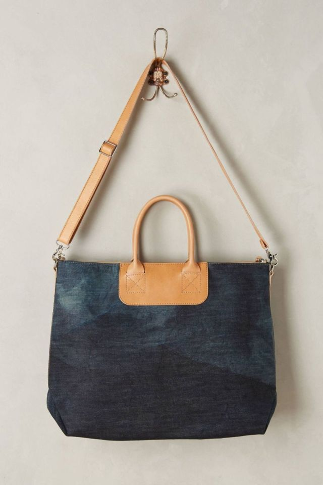 Bedford Denim Tote by Graf & Lantz