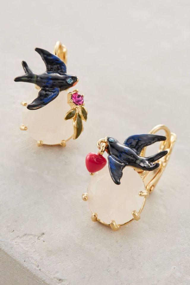 Birdsong Earrings by Les Nereides