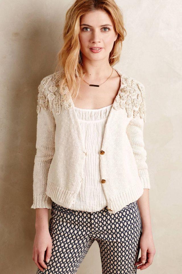 Caltha Crochet Cardi by Vero Alfie
