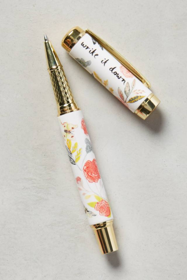 Climbing Rose Pen by Michelle Morin