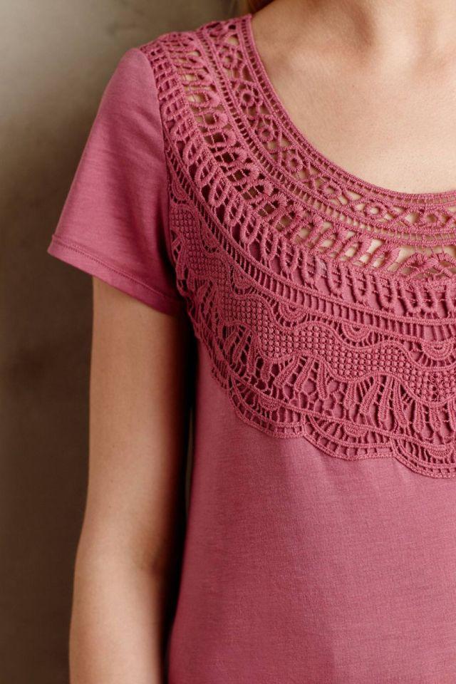 Crochet Bib Tee