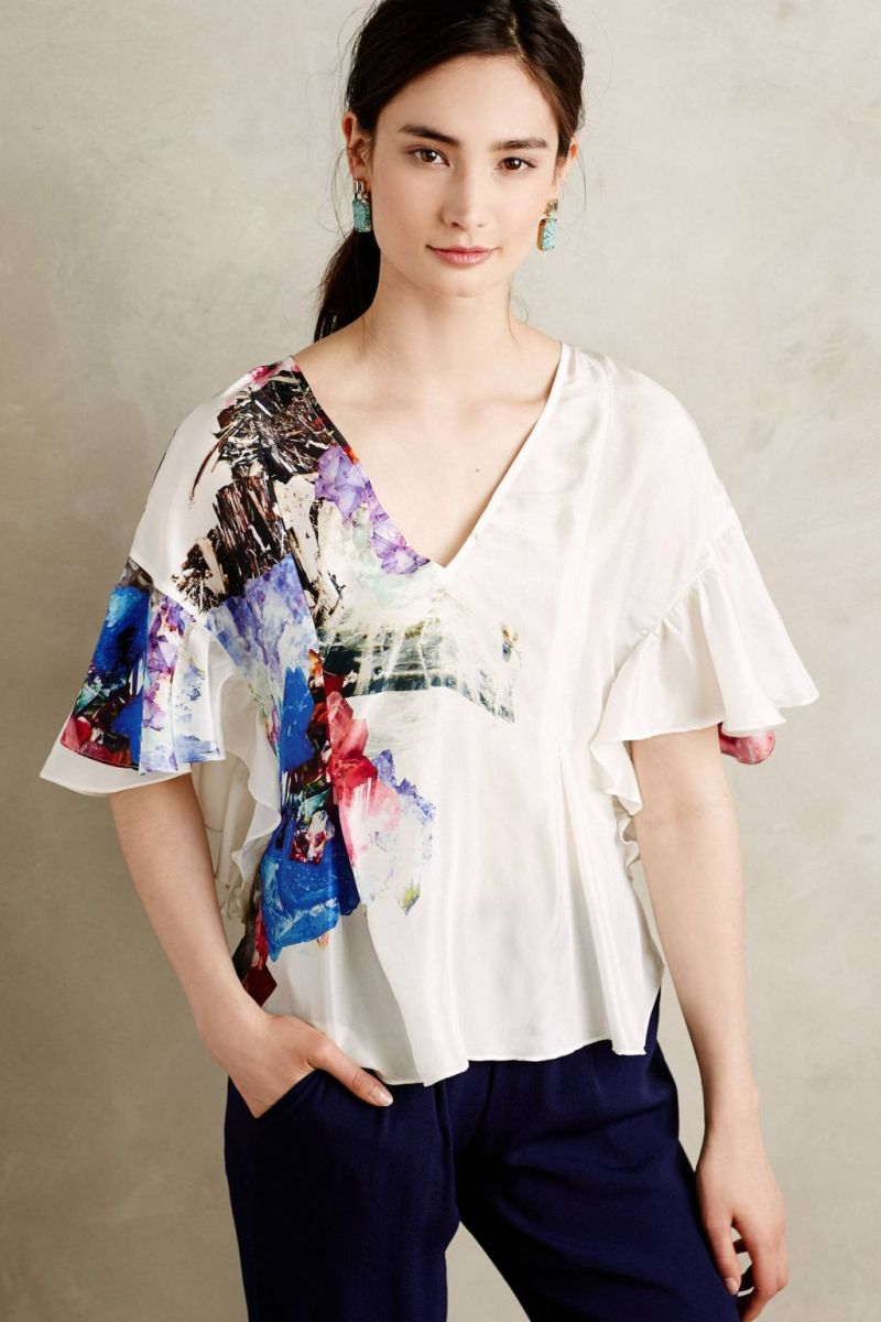 Anthropologie's New Arrivals: Tops & Tunics