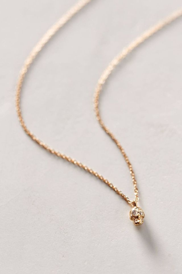 Diamond Eyes Necklace by Charlie and Marcelle