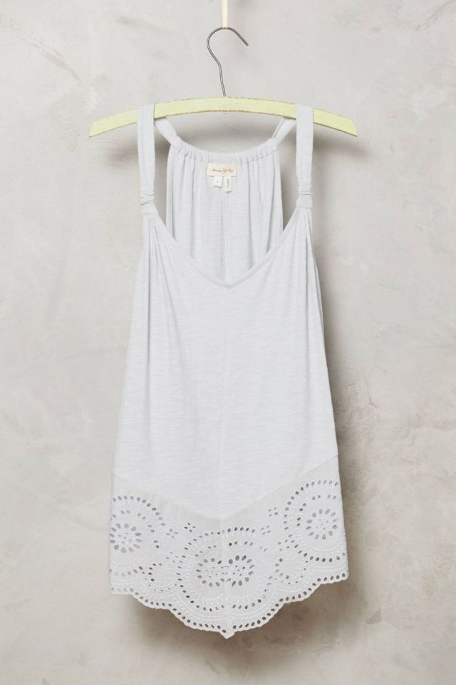 Knotted Lace Tank by Meadow Rue