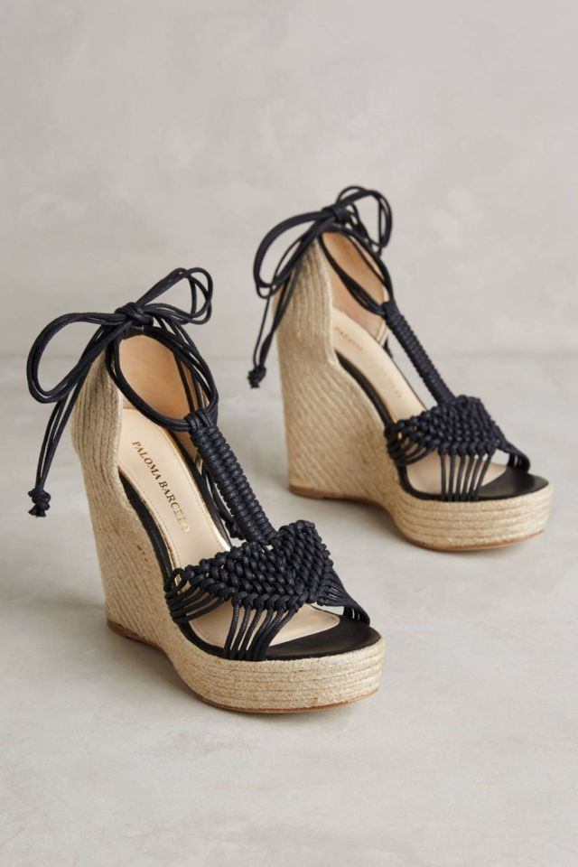Lucca Wedges by Paloma Barcelo