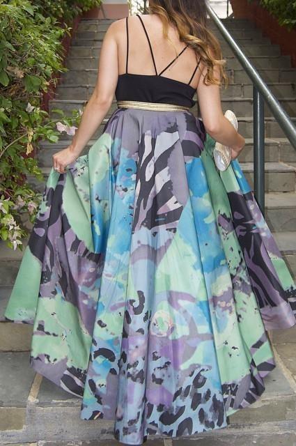 Pintura Ball Skirt by Geisha Designs