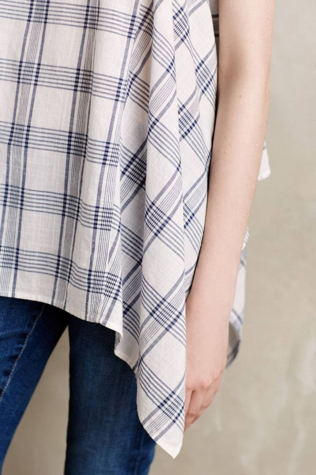 Plaid Swing Tunic Detail