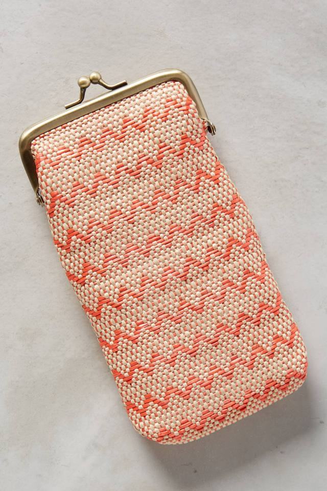 Raffia Zag Glasses Case by Miss Albright